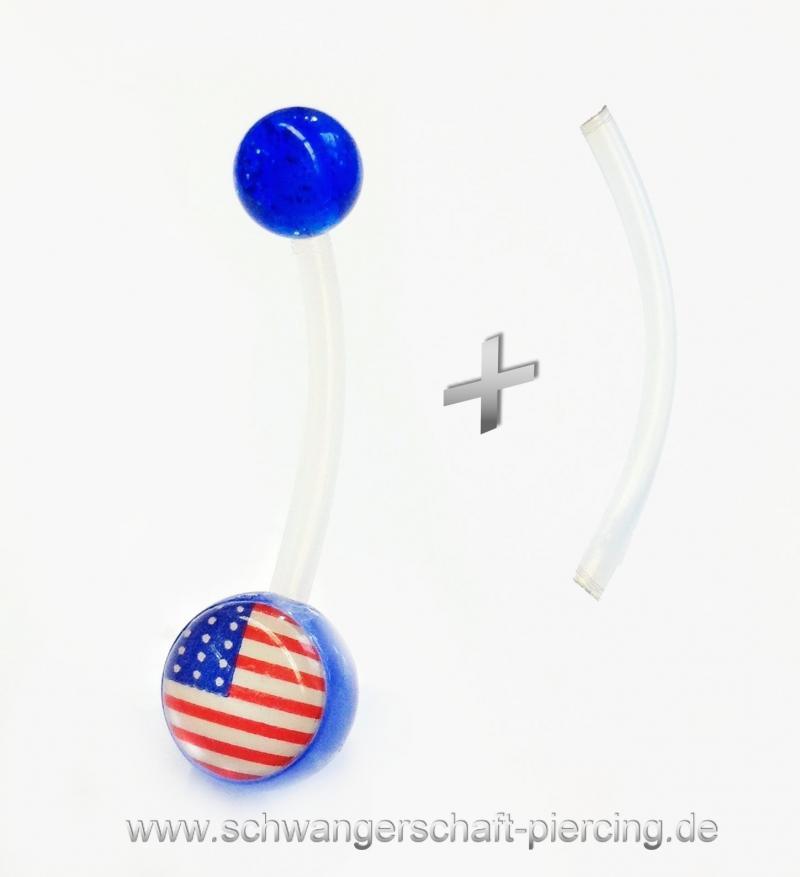 USA Schwangerschaftspiercing
