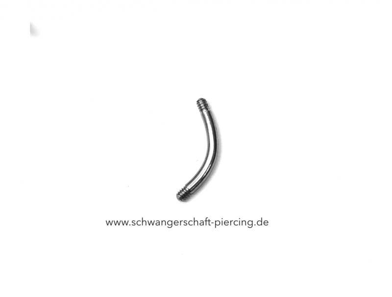 Chirurgenstahl - Stab Banane 12 mm